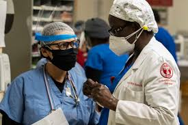 Doctors fighting against the coronavirus