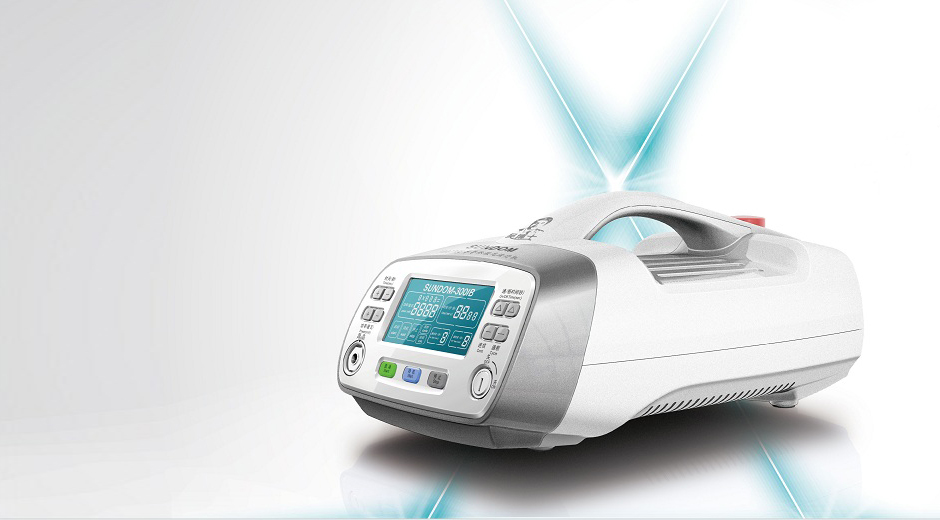 A pain relief laser device