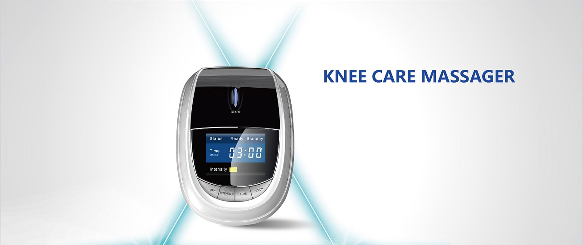 A Raycome knee laser therapy device