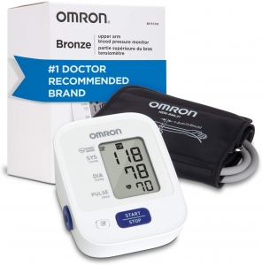 An Omron Platinum BP Monitor