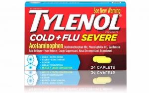 A box of Tylenol