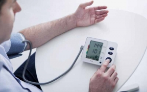 Patient-taking-blood-pressure-readings