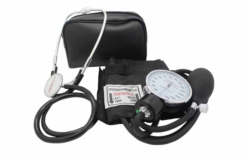 Santamedical-Adult-Deluxe-Aneroid-Sphygmomanometer