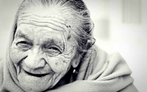 An Old Woman Smiling